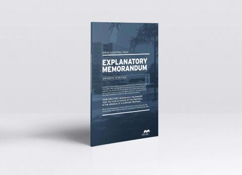 Mirvac: Explanatory Memorandum