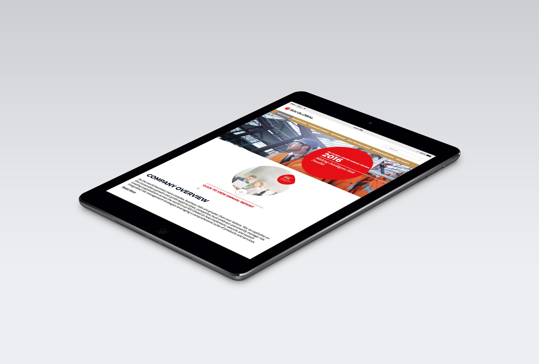 SAI Online Report 2016 iPad