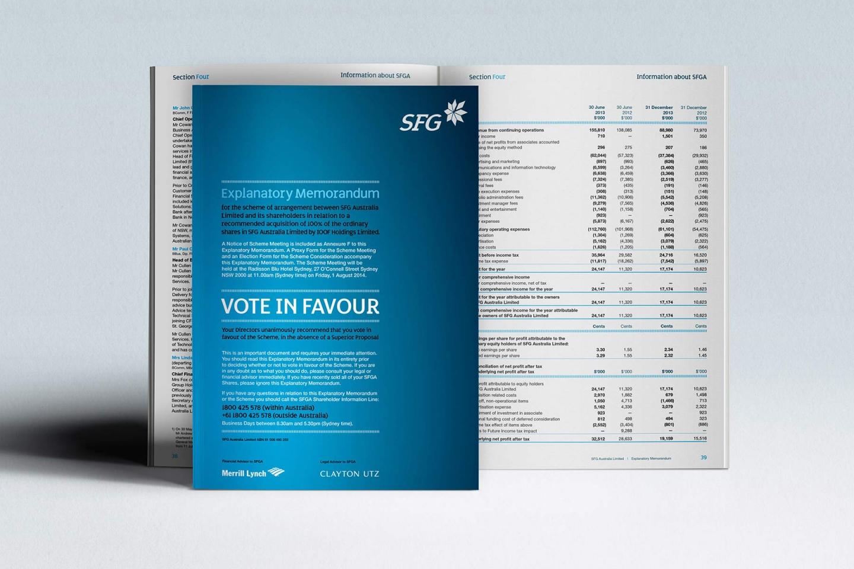SFG: Explanatory Memorandum