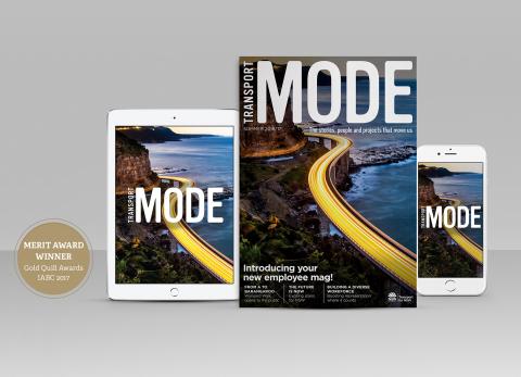 Transport NSW: Mode Magazine